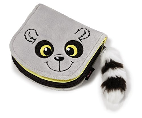 NICI-Billetera-lemur-peluche-12-x-11-cm-402480
