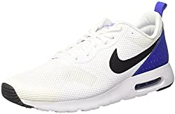 Nike Men's Air Max Tavas Trainers, Multicolour (Whiteblackparamount Blue), 10.5 Uk