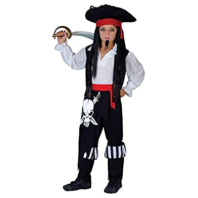 Captain Blackheart Fancy Dress Costume Boys (pirates)