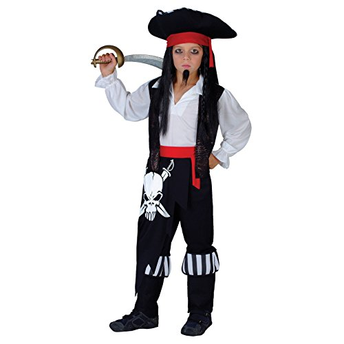 Sparrow Captain Für Jack Kinder Kostüm (Captain Blackheart - Kids Costume 11 - 13)