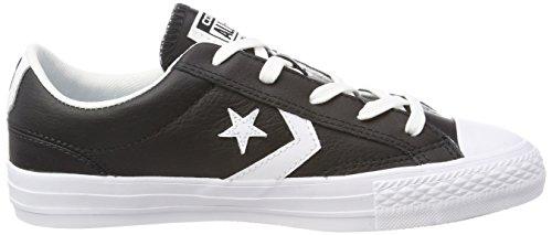 Converse Star Player Ox Black White, Sneaker Unisex – Adulto Schwarz (Black/White/White)