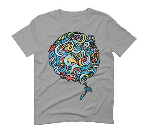 Earth Men's Graphic T-Shirt - Design By Humans Opal