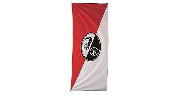SOUND FAHNENMAST FAHNE FLAGGE SC FREIBURG NEU