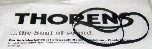 Antriebsriemen für TD 124 Plattenspieler Thorens Original Flachriemen Belt