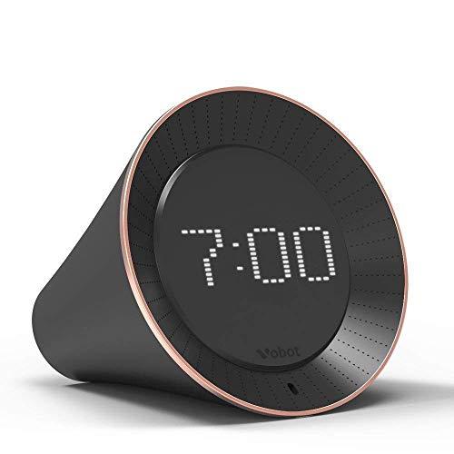 QQCC Intelligent Uhr Mobiltelefon APP Betriebs Stimme Dialog Anzeige Zeit Kalender Mode Bluetooth Aufwachen Nützlich für Schlafzimmer Wohnzimmer