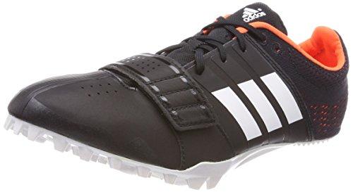 adidas Unisex-Erwachsene Adizero Accelerator Leichtathletikschuhe, Schwarz (Core Black/Ftwr White/Orange Core Black/Ftwr White/Orange), 41 1/3 EU Orange Herren Track Spikes