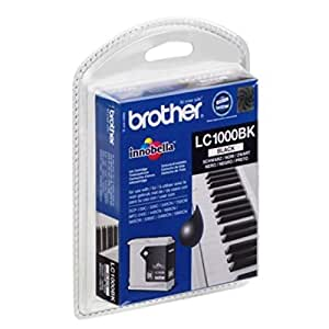 Brother DCP-350 C (LC-1000 BK BP) - original - Ink cartridge black - 500 Pages