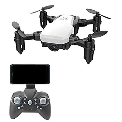 Koeoep Mini Drone,Headless Quadcopter RC Drone with Altitude Hold and FPV Camera,Easy to Fly Pocket Drone for Beginner