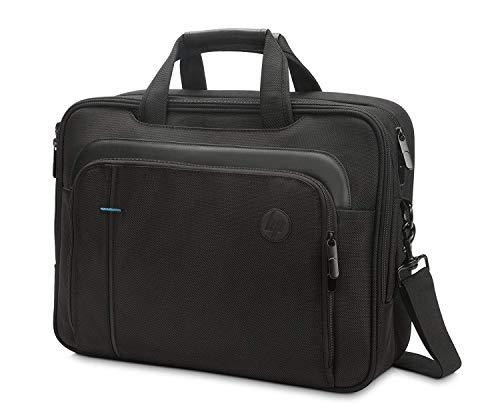 HP SMB Topload (T0F83AA) Umhängetasche mit Reißverschluss für Laptops, Tablets ( 15,6 Zoll) schwarz (Tablet-2015 Hp)