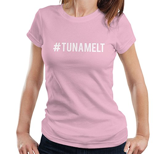Love Island Hashtag Tuna Melt White Women's T-Shirt Light Pink