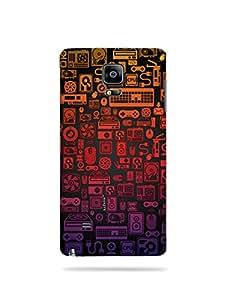 alDivo Premium Quality Printed Mobile Back Cover For Samsung Galaxy Note 4 / Samsung Galaxy Note 4 Back Case Cover (MKD141)
