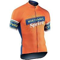 NORTHWAVE Jersey de manga corta ciclismo hombre SPRINT naranja