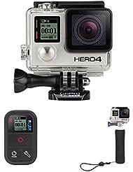 Pack GoPro HERO4 Black Adventure + Poignée Flottante GoPro + Smart Remote Télécommande GoPro