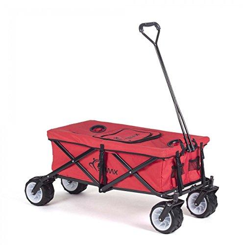 SAMAX Bollerwagen offroad cool rot - diverse Ausführungen