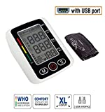 MCP BP 112 Digital BP Blood Pressure Monitor With USB Charging Port Irregular Heartbeat and Pulse Indicator Rechargeable