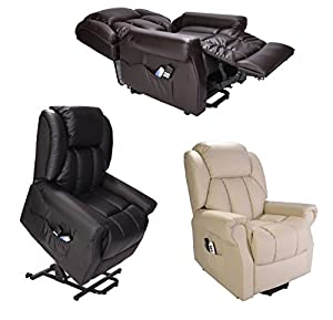 Hainworth Dual Motor riser recliner chair rise lift with heat and massage