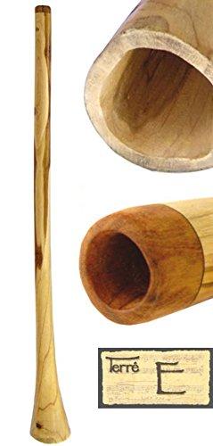 Didgeridoo aus Teakholz Tonhöhe: E ca. 130-150 cm lang mit Leinöl klarer Ton Rissstabilität Weltmusik Aborigines Australien Percussion