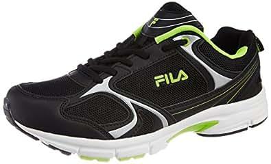 Fila Men's Milford Navy and Neon Green  Running Shoes -11 UK/India (45 EU)