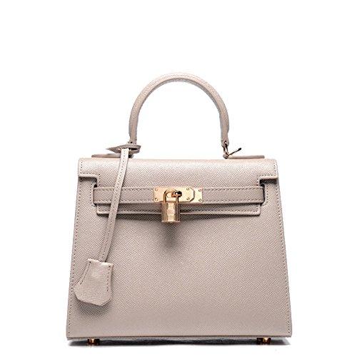 GUANGMING77 Kylie _ Borsette Borsette Borsetta Bag Mini Borsa Tracolla Palm Messenger,Kaki Khaki