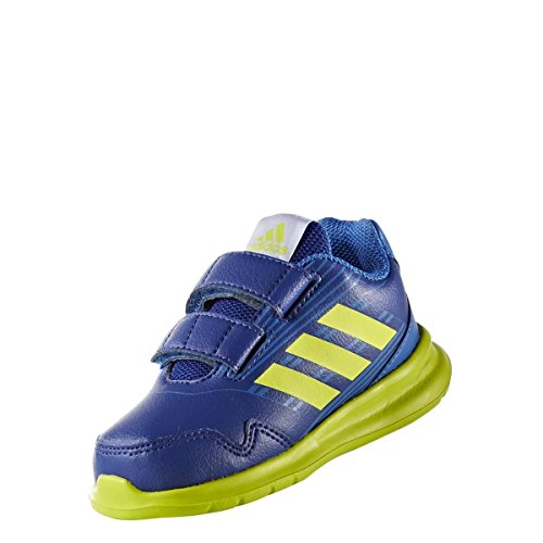 adidas Kleinkinder AltaRun CF I, Mystery ink f17/semi solar yellow/blue Mystery ink f17/semi solar yellow/blue