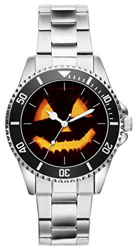 Halloween Geschenk Artikel Idee Fan Uhr 6147