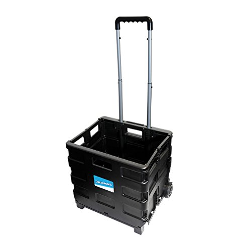 Silverline 633400 Pieghevole Box Trolley 25 Kg