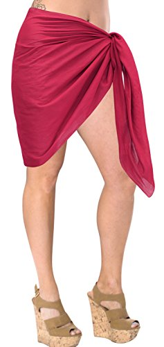La Leela - Copricostume - relaxed - Opaco -  donna Rosa