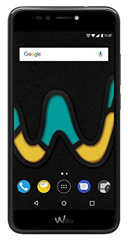 Wiko U Pulse Black (Smartphone, 5,5 Zoll HD, 13 MP Kamera, 8MP Selfie-Kamera, Android, Fingerabdruck, 32GB ROM/3GB RAM, Quad-Core CPU, 4G, Dual-SIM, Speicher erweiterbar um bis zu 128GB, Black)