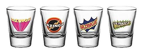 GB Eye Ltd, The Big Bang Theory, Bazinga, 20 ml Verre à shot