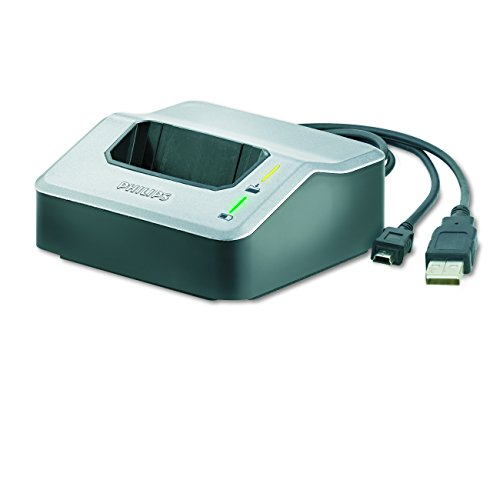 Preisvergleich Produktbild Philips LFH9120 Dockingstation für digitale Philips Diktiergeräte der der Serien LFH96xx, LFH95xx, LFH93xx, silber