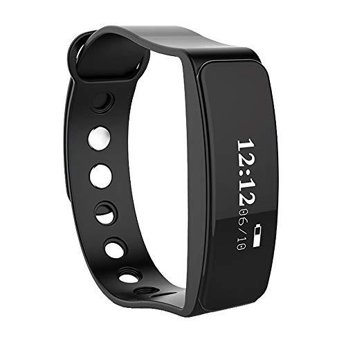 Wasserdichtes Funktions-Bluetooth-Sport-Gesundheits-Armband, Fitness-Tracker-Aktivitäts-Uhr und Pulsmesser, Touchscreen-Smart-Armband, Kinder Schlaf-Monitor-Pedometer-Schritt-Kalorie-Zähler der weibli - Kalorien Zähler-monitor