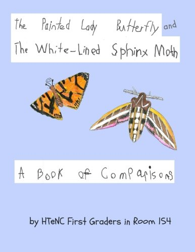 The Painted Lady Butterfly and The White-Lined Sphinx Moth: A Book of Comparisons