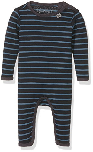 PAPFAR Baby-Jungen Taylor Stripe Spieler Langarm, Blau (Blue Nights 287), 68 (Herstellergröße: 6M)