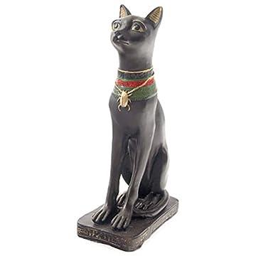 Par de egipcio Figura de gato estatua figura decorativa antiguo Egipto 6