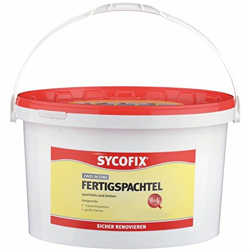 SYCOFIX Fertigspachtel (17 kg), Grundpreis 3,17 Euro/kg
