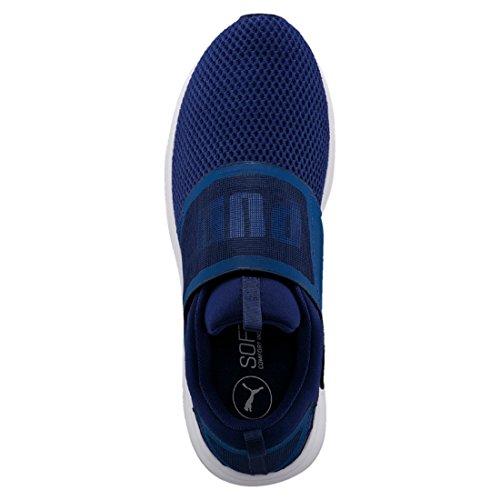 Puma Enzo Strap, Scarpe Sportive Outdoor Uomo Blu (Blue Depths-white)