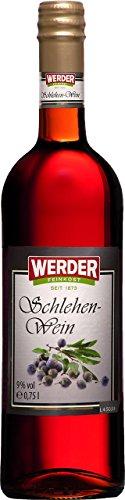 WERDER Schlehen Wein 0,75 l Alk. 9 % vol
