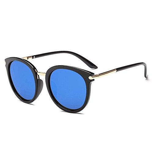 Honestyi Frauen Männer Vintage Clout Cat Eye Unisex Sonnenbrille Rapper Grunge Brille Eyewear 3290 runde sonnenbrille brille