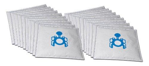 20 sacs d'aspirateur de qualité supérieure adaptés à l'aspirateur Tornado Campus TO 4562/N