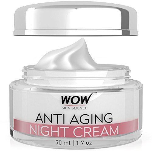 WOW Anti Aging Night Cream - No Minerals And No Parabens - Infused with  Matrixly 3000 Peptide, Hyaluronic Acid & Vitamin C - 50ml