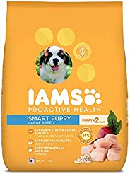IAMS Proactive Health Smart Puppy Large Breed Dogs (<2 Years) Dry Dog Food, 3