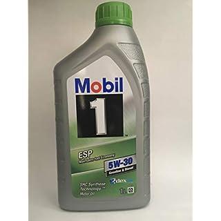 Mobil 1 ESP 5W-30 Motorenöl Gasoline & Diesel SHC Synthese-Technologie, 1L
