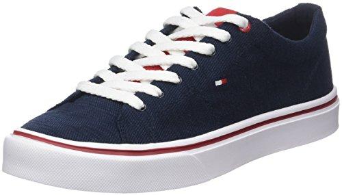 Tommy Hilfiger Herren Lightweight Knit Sneaker, Blau (Midnight 403), 44 EU