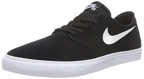 Nike Zoom Oneshot Sb, Baskets Basses homme Noir - Noir (noir/blanc)