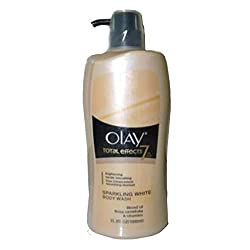 OLAY TOTAL EFFECTS 7IN1 SPARKLING WHITE BODY WASH - 1000ML