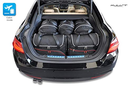 KOFFERRAUMTASCHEN BMW 4 4D Gran Coupe F36 2013+ 5STK ROLLENTASCHEN CARBAGS KJUST