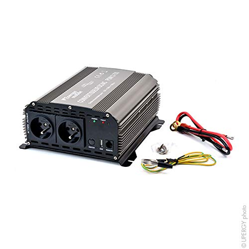 EM - Wechselrichter DC/AC 12/230V 700W rein sinus PSW -