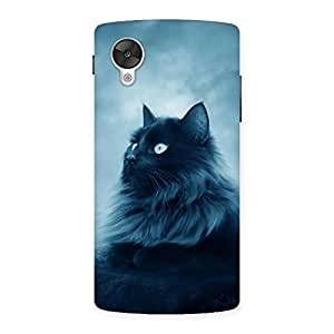 NEO WORLD Remarkable Crazy Cats Back Case Cover for Google Nexsus 5