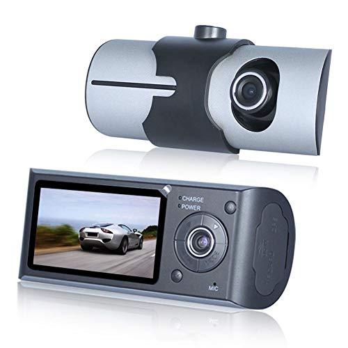 CVERY 2,7 Zoll Auto DVR Kamera, Full HD 1080P Auto Armaturenbrett Kamera DVR Armaturenbrett Kamera mit Nachtsicht, G-Sensor GPS Dual Linse, unterstützt GPS-Modul - Sprint-gps