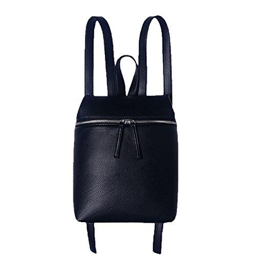 Zaino Da College Universitario Per La Signora Lady Fashion Black